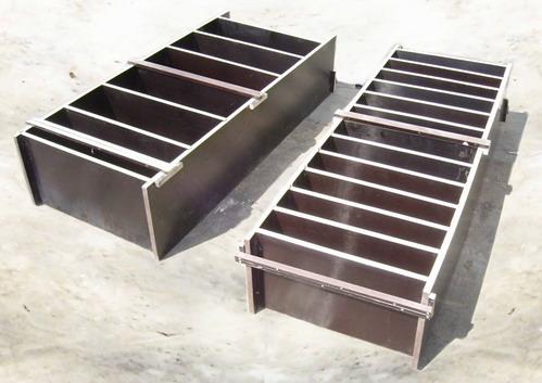 Форма для производства пенобетона из ламинированной фанеры