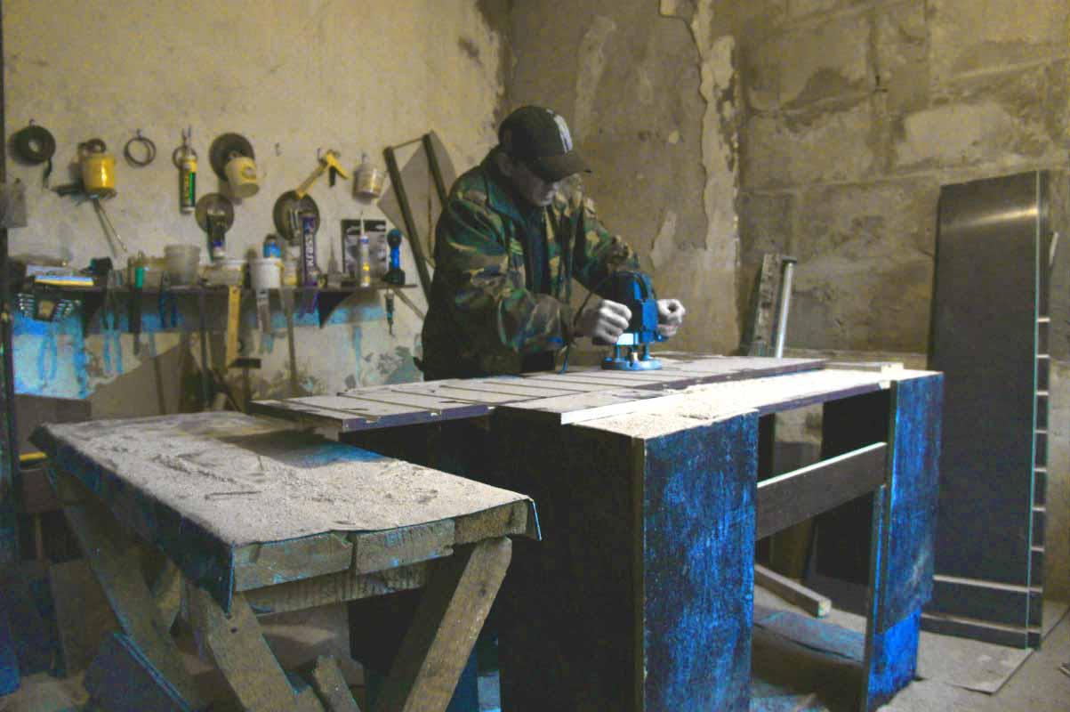 Изготовление форм из ламинированной фанеры