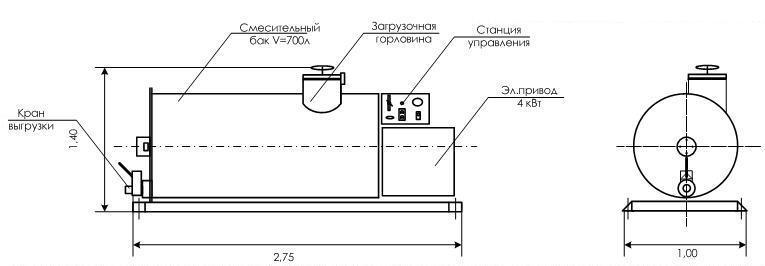 Схема СУ-700
